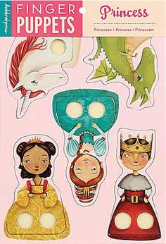 Finger Puppets - Princess, Chinaberry.com