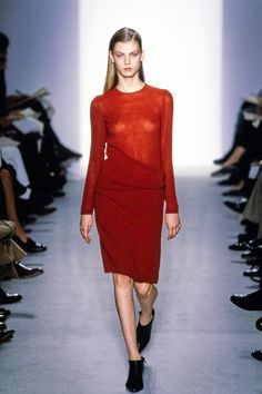 Calvin Klein Collection Fall 1997 Ready-to-Wear Fashion Show - Angela Lindvall