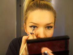 Eye liner tutorial / Rajaukset syksy 2012 by saara sarvas