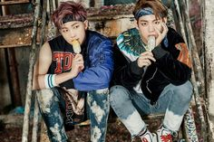 You Never Walk Alone Photoshoot pt.1 Rap Monster and V