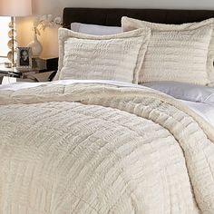 madison park duke faux fur comforter set, med brown | fur