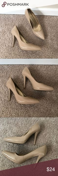 "BCBG Nude Heels Only worn twice. Great staple heel. Nude color. Size 9. True to size. Minimal wear on heels. Very minor scuffing but not super noticeable. Heel height 4"".  ❌ No trades or off Poshmark transactions.   👌🏻Quick shipping.   💁🏻Offers welcome through ""Make an Offer"" feature.   👗👠 Bundle discount.   ❔ Feel free to ask any questions. BCBGeneration Shoes Heels"