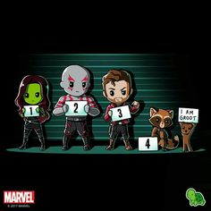 Get officially licensed Marvel Guardians of the Galaxy shirts featuring Groot, Rocket, Star Lord, and more! Chibi Marvel, Marvel Art, Marvel Dc Comics, Marvel Avengers, Marvel Funny, Marvel Memes, Marvel Universe, Gardians Of The Galaxy, Heros Comics