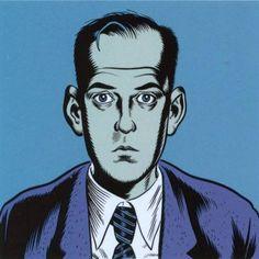 Daniel Clowes self portrait