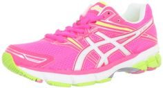 ASICS Women's GT-1000 Running Shoe,Electric Punch/White/Highlighter Yellow,6.5 B US * For more information, visit image link.