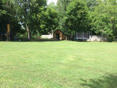 #pinmydreambackyard  Lots of space but no landscaping yet.