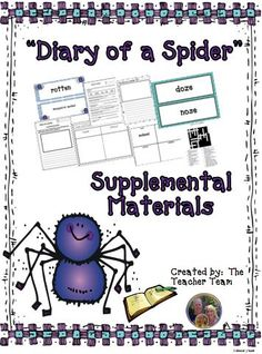 Diary of a spider book read online