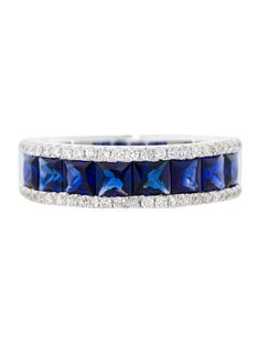 1.85ctw Sapphire and Diamond Ring - Fine Jewelry - FJR21184 | The RealReal