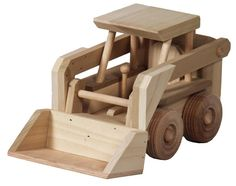 Amish Wooden Toy Skidloader