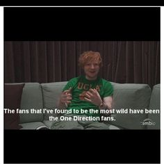 Haha of course Ed! We are the craziest. And the best at stalking. And pretty much just the best fandom ever.