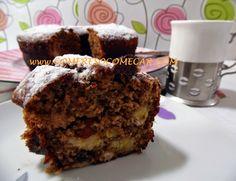 BOLO COM BANANAS E CHOCOLATE - Receitas Culinárias