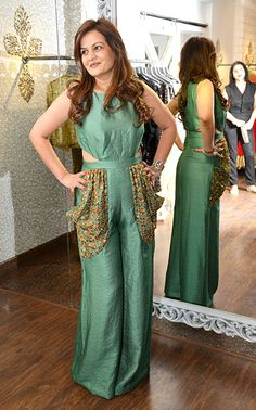 Dipti Sandesara at Seema Khan's Christmas collection launch. #Page3 #Fashion #Style #Beauty