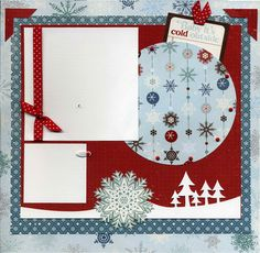 Baby It's Cold Outside - Scrapbook Page