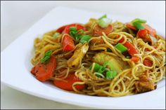 White Wine Curry Noodles