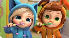 NEW Episode!  Brush Your Teeth   #HealthyHabits and #nurseryrhymes from #DaveAndAva