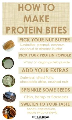 How to Make Protein Bites - FitFluential