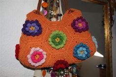 crochet bag LOOK AT THE HANDLES