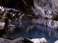 #HotelNewYork  Grjotagja hot spring in North Iceland
