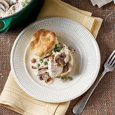45 Quick-Fix Chicken Suppers | Stovetop Chicken Pie | SouthernLiving.com