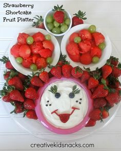 Strawberry Shortcake Party Food