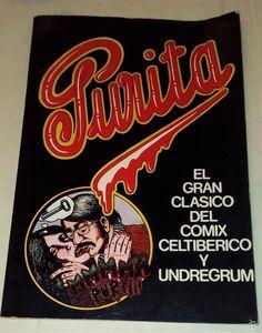 PURITA. El gran clásico del comix celtibérico y undergrum.1975 - Foto 1