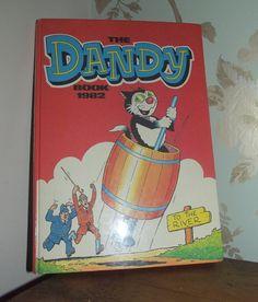 childrens comic book dandy 1980s vintage by DollyTopsyVintage, £10.00