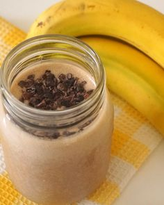 Peanut Butter Power Shake - raw, dairy free, protein packed & gluten free!
