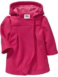 Hooded Pea Coats for Baby