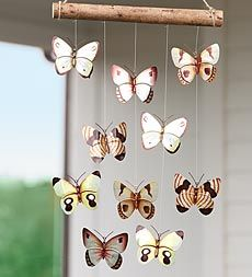 Butterfly mobile ~ So cute!
