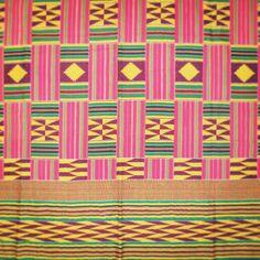 Colorful bohem African fabric