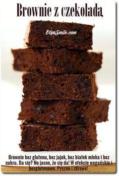 Brownie z czekoladą Miałam dzisiaj ochotę na brownie z czekoladą do kawy. Proste i pyszne wegańskie brownie z czekoladą, na bazie dyni, jabłek lub też gruszek, możecie przygotować dosłownie w kilka chwil. Wystarczy dobrze zmiksować suche
