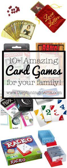 10+ Amazing Card Gam