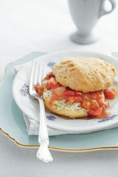Our Favorite Biscuit Recipes: Cat-Head Biscuits with Tomato Gravy