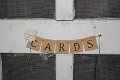 southern garden vintage wedding burlap cards wedding banner . rustic southern by montanasnow,