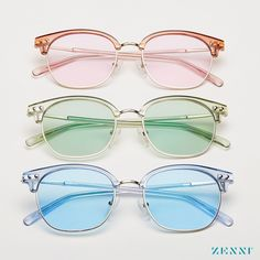 Our popular browline glasses updated with new colors and add a tint to make the entire look one of a kind. Affordable Glasses, Round Sunglasses, Mirrored Sunglasses, Fossil Watches, Glasses Online, It Goes On, Silver Pendant Necklace, Looks Cool, Eye Glasses