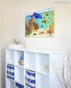 California Kelp wall art for kids