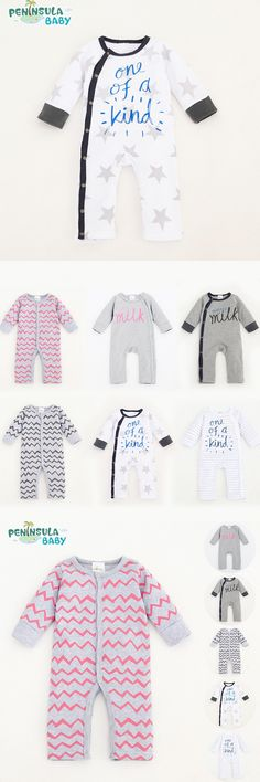 Newborn Baby Clothes Cotton Baby Rompers Long Sleeve One Pieces Jumpsuits Girls Boys Spring Costumes Baby Pajamas Infantil