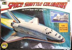 John Kenneth Muir's Reflections on Cult Movies and Classic TV: Model Kit of the Week: Space Shuttle (Revell)
