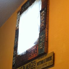 Colorado license plate window crown molding- nostalgia. Old License Plates, Old Plates, Green Ideas, Big Daddy, Crown Molding, Creative Ideas, Maps, Upcycle, Colorado