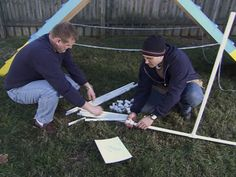 How to Build a 3-Part Dog Agility Course : How-To : DIY Network