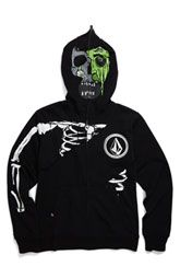 Austen loves these Zombie Masked Hoodies