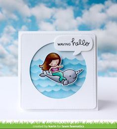 Peppermint Patty's Papercraft: Lawn Fawnatics Challenge: Interactive cards
