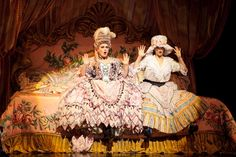 Il Muto, with Trista Moldovan as Christine and Michele McConnell as Carlotta, Broadway 2012