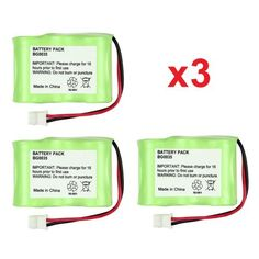 3 Fenzer Rechargeable Cordless Phone Batteries for Vtech BT-17333 BT-27333 CS2111 Cordless Telephone Battery Replacement Packs by Fenzer. $9.14. For Radio Shack: CS90174, 12280731, 23-956, 23-9069, 43-3215, 960-1436, 23956, 239069, 433215, 9601436, RCA: 52320, Recoton: T102, Saft: STB119, Sanyo: 3N270AA-MRX-R, CLT-3500, GES-PCH06, 3N270AAMRXR, CLT3500, GESPCH06, Sony: BP-T37, BPT37, Southwestern Bell: 31175, 425083, BAT1188, BP-36MLX, BP-36MLX400, D2/3AA-400X3, BP3...