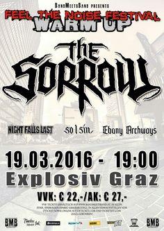 Line Up - Feel the Noise Festival Warm Up 2016 - Graz