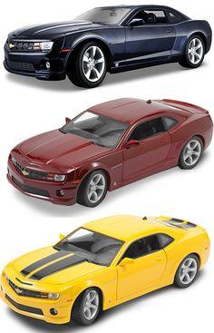Chevrolet Camaro SS Diecast Alloy Matte Black Model Car Realistic High Detailed