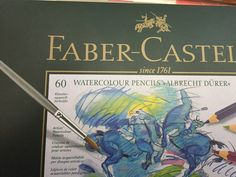 Watercolor pencil: 7 ways to use Albrecht Dürer Watercolor Pencils