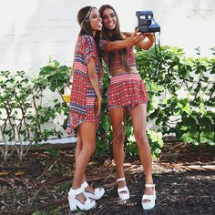 Babes! Elisha + Renee Herbert for Peppermayo.com