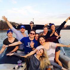 Inside Vampire Diaries Stars Nina Dobrev and Michael Trevino's Farewell Party (PHOTOS)