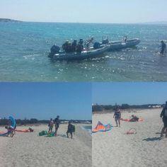 Naxos kitesurf club +UCPA Naxos..Glyfada beach.. best team, best spot ;) #naxoskitesurf #naxosglyfada Europe News, Playground, Greece, Club, Beach, Kitesurfing, Children Playground, Greece Country, Seaside